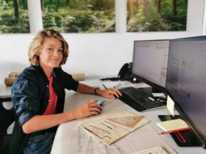 Lehrbeginn Hochbauzeichner 2021 Invias AG